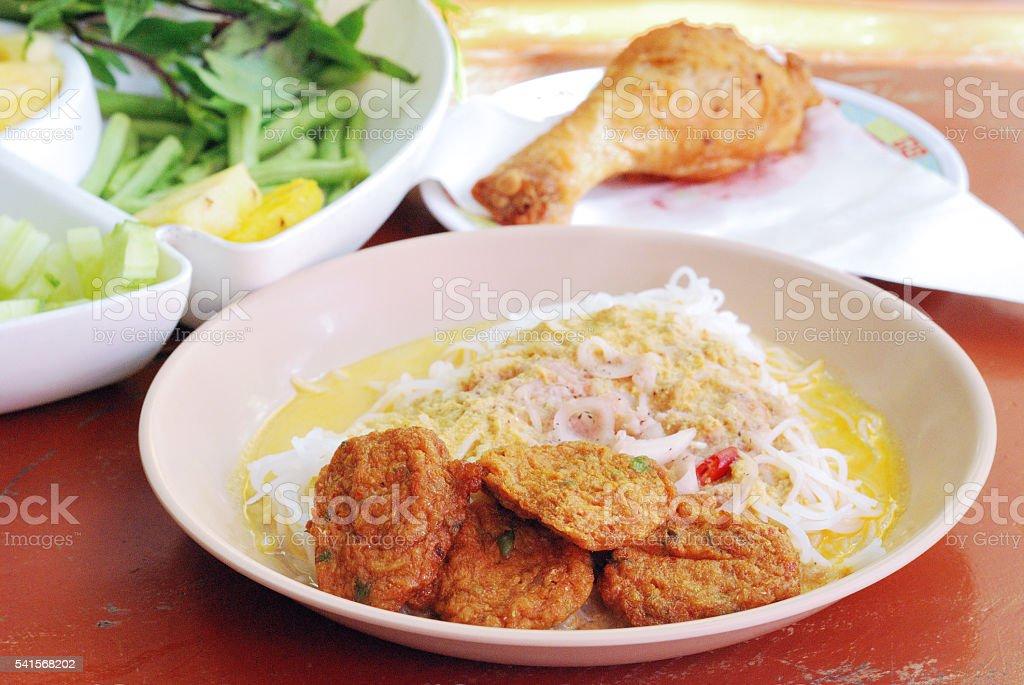 Thai Fish Cake stock photo