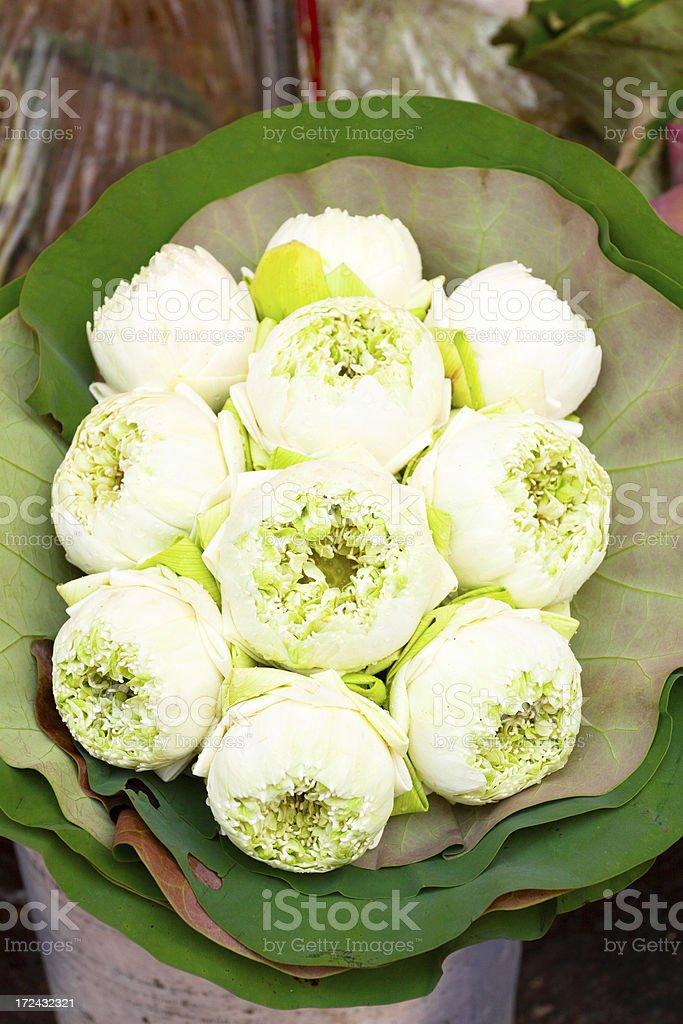 Thai flower bouquet royalty-free stock photo