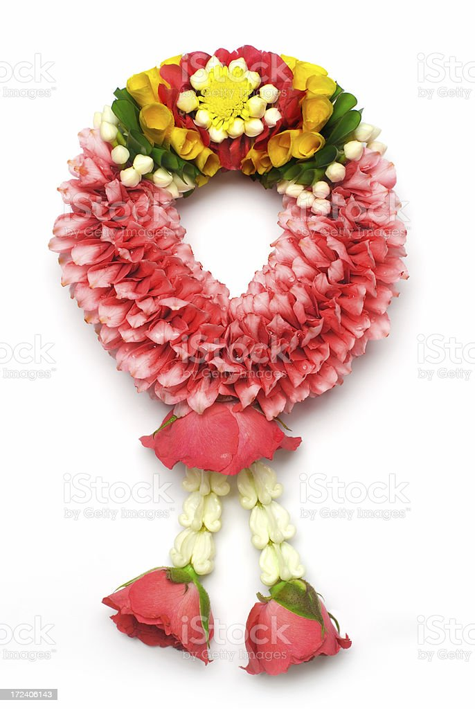 Thai Flower Garland royalty-free stock photo