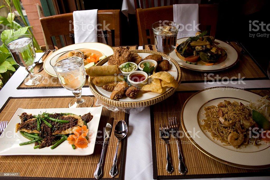 Thai Food Restaurant royalty-free stock photo