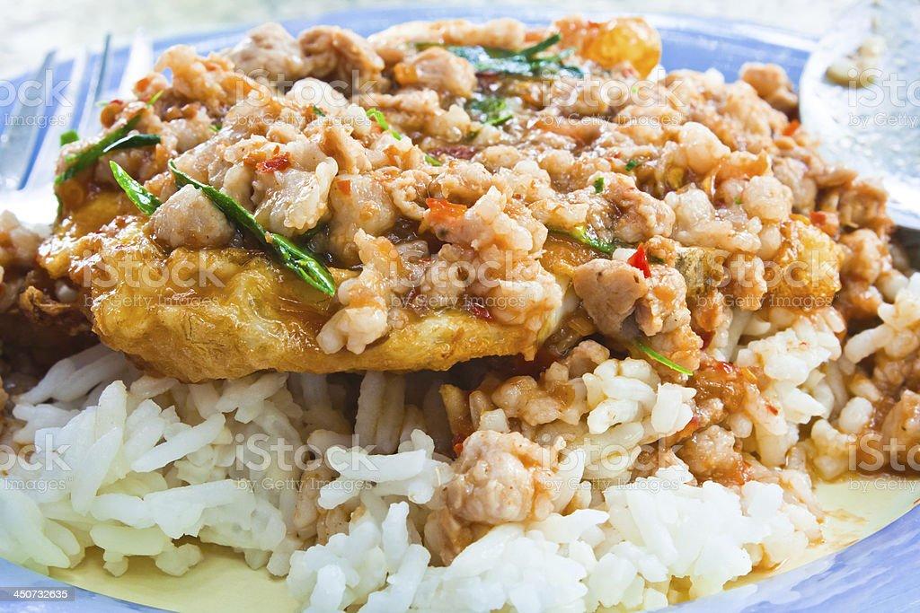 Thai food, shushi kai dow. royalty-free stock photo