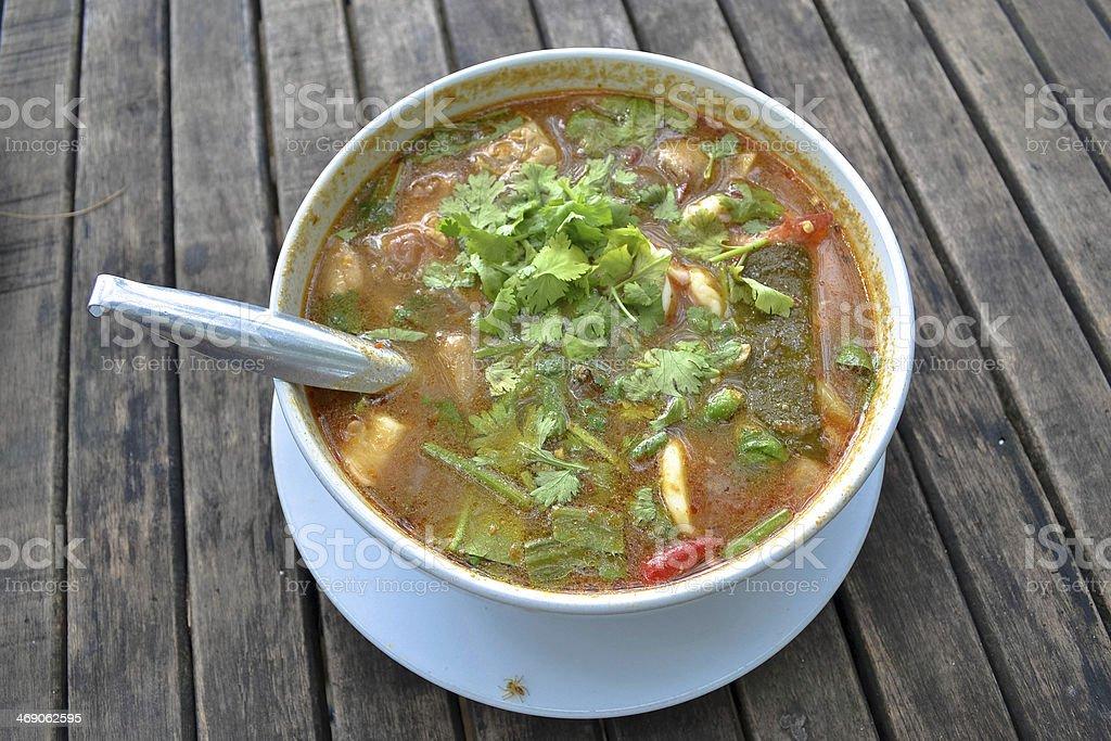 Thai Food , Tom Yum stock photo