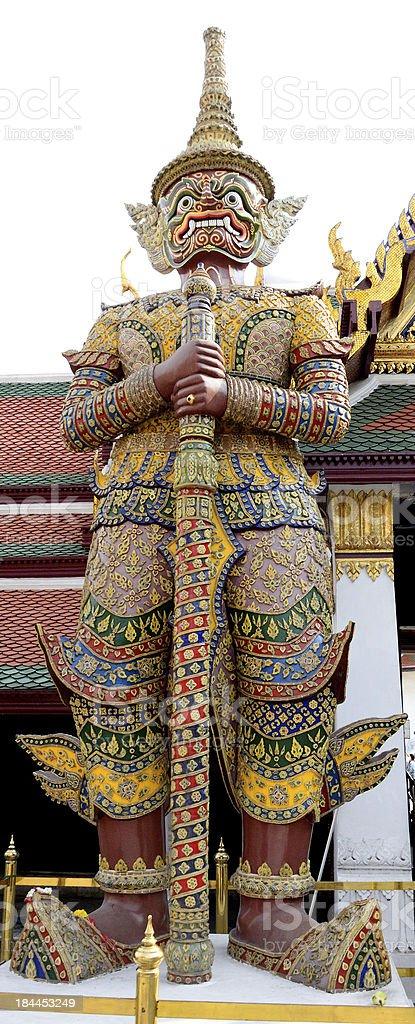 Thai giant sculpture royalty-free stock photo