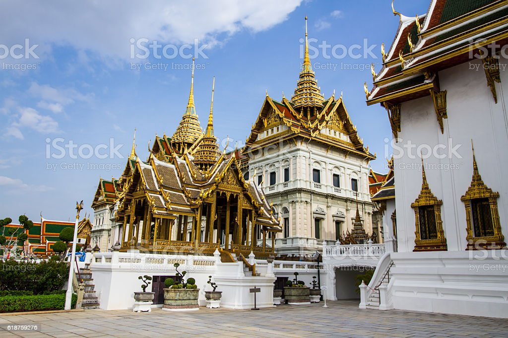 Thai Grand Palace stock photo