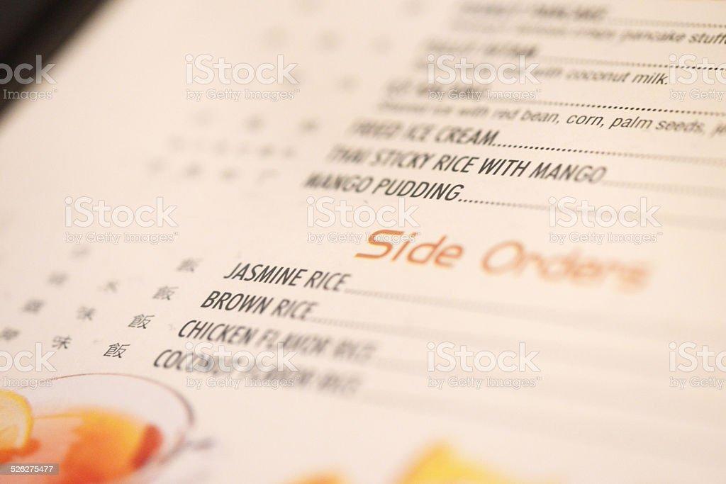 Thai Iced Tea stock photo