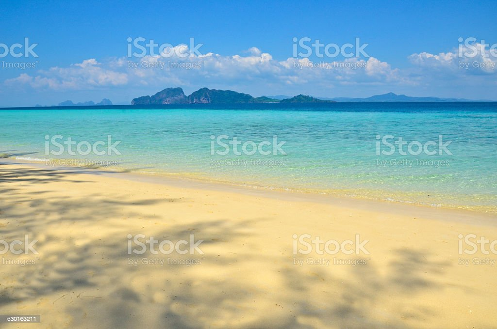 Thai Island Color stock photo