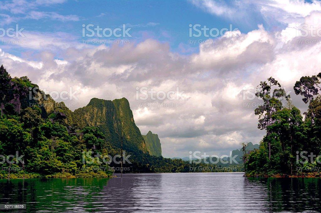 Thai Lake royalty-free stock photo