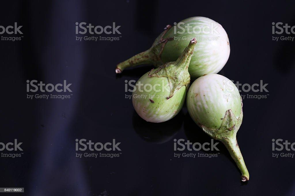 Thai local vegetables stock photo