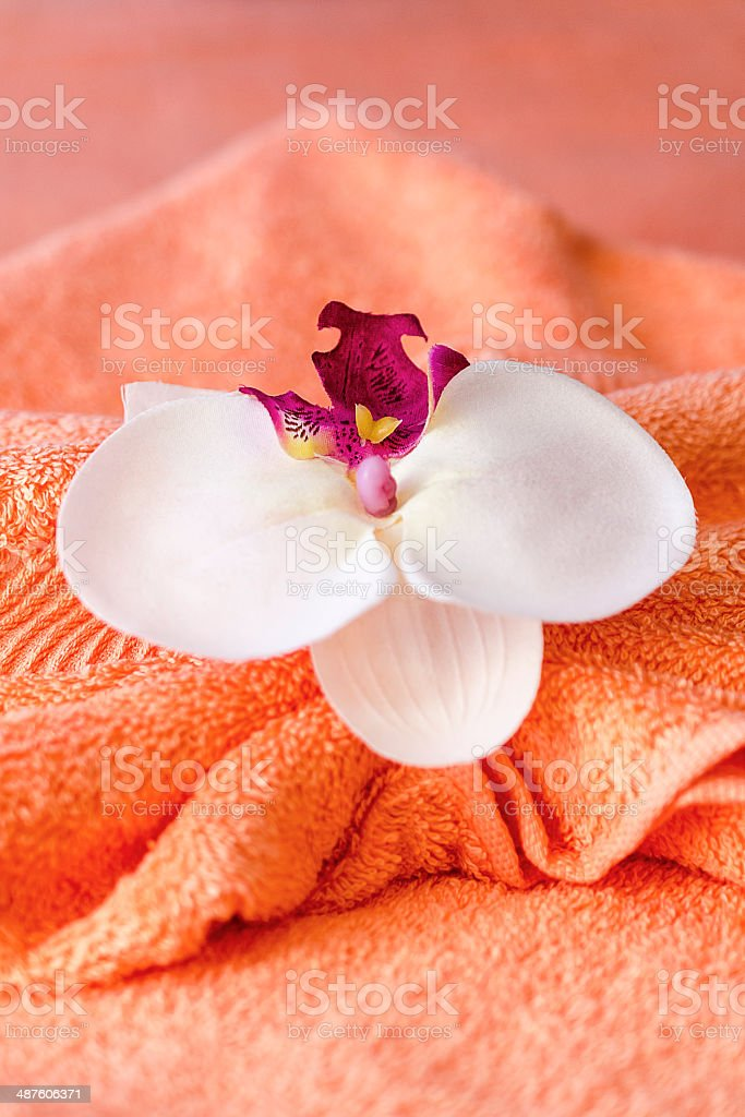 Thai massage decoration royalty-free stock photo