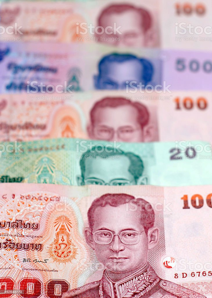Thai Money royalty-free stock photo
