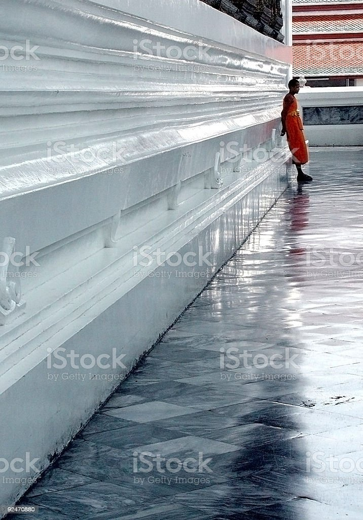 Thai Monk royalty-free stock photo