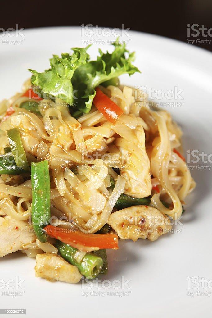 Thai noodle royalty-free stock photo