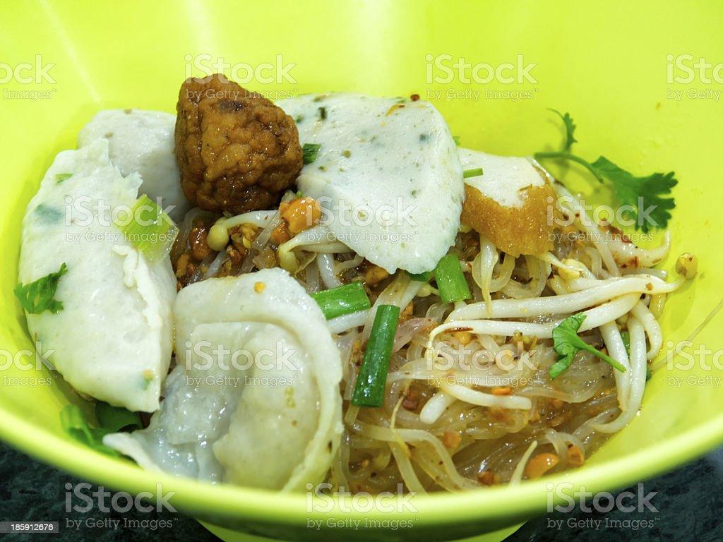 Thai noodles royalty-free stock photo