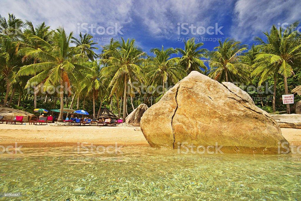 Thai Paradise royalty-free stock photo