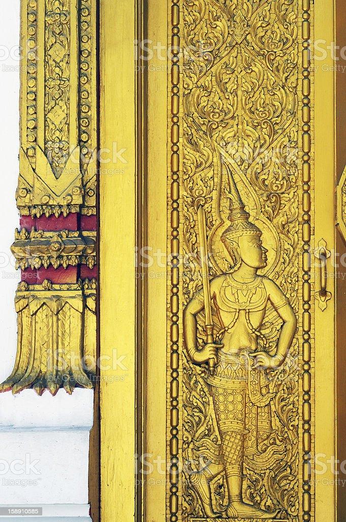 thai pattern royalty-free stock photo