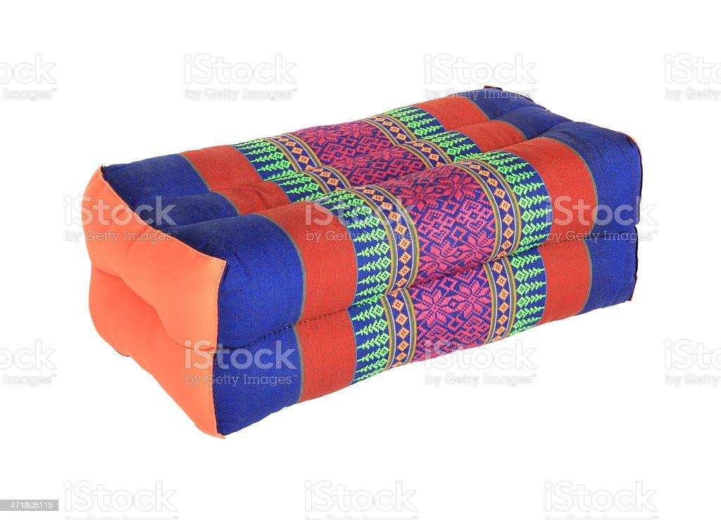 Thai pillow royalty-free stock photo