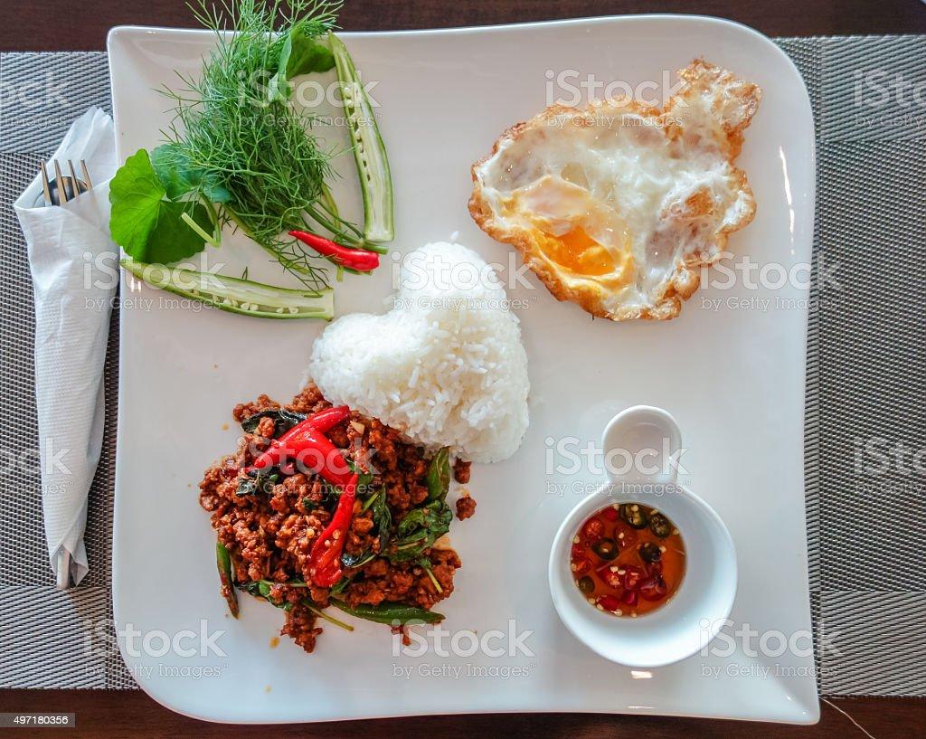Thai Popular Food stock photo