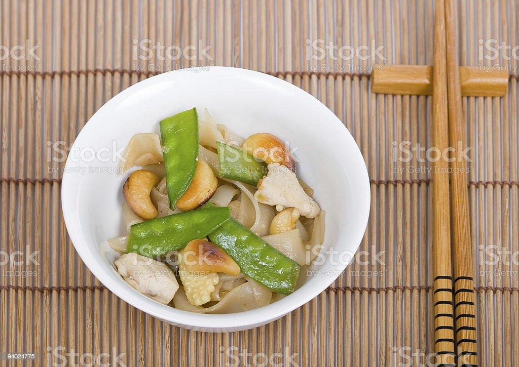 Thai rice noodle royalty-free stock photo