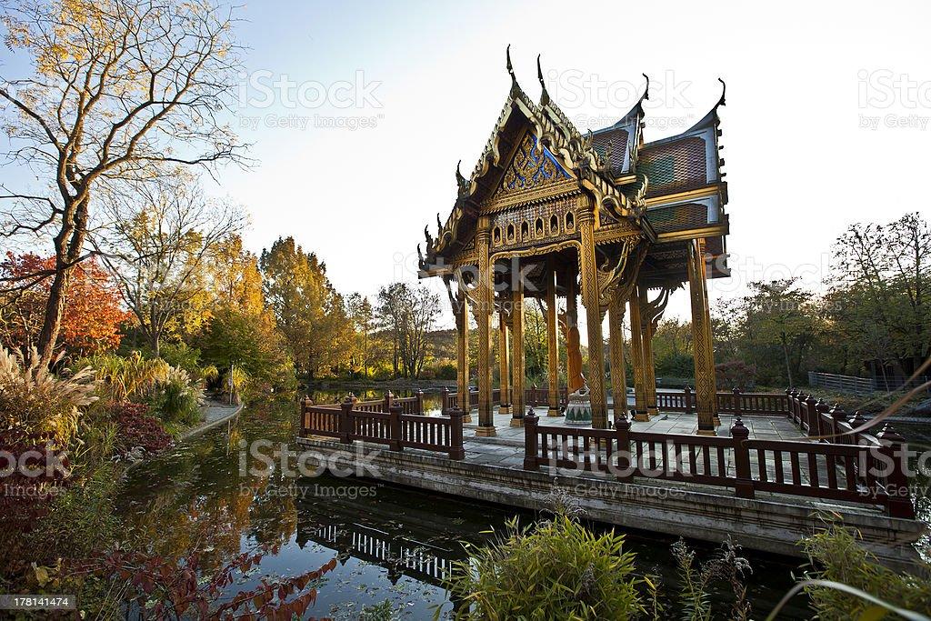 Sala Thai royalty-free stock photo