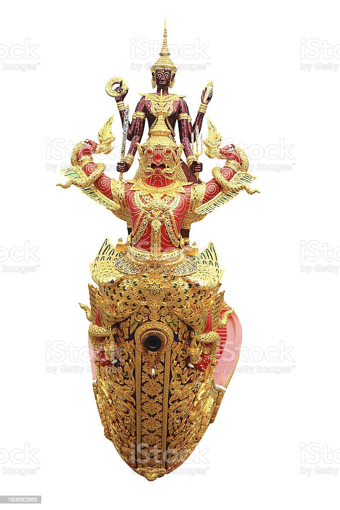 thai royal prow royalty-free stock photo