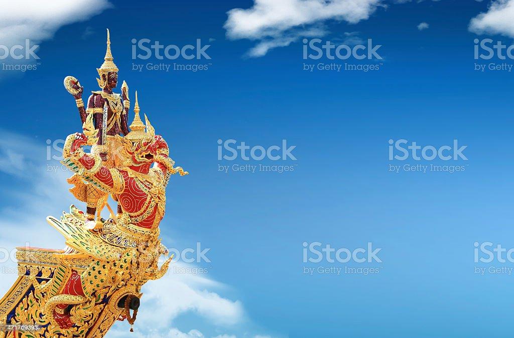 thai royal prow royalty-free stock photo