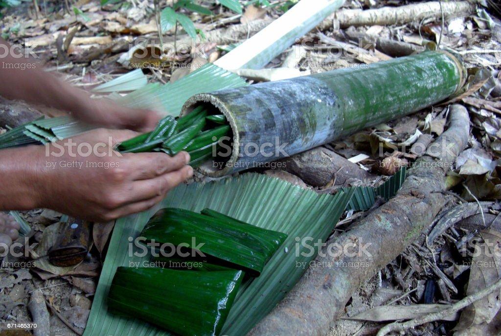 Thai rural lifestyle stock photo