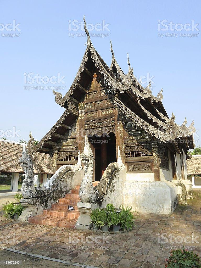 Thai sanctuary royalty-free stock photo