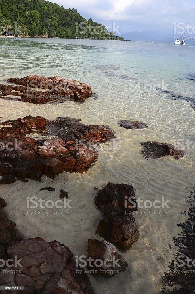 Thai Sea royalty-free stock photo