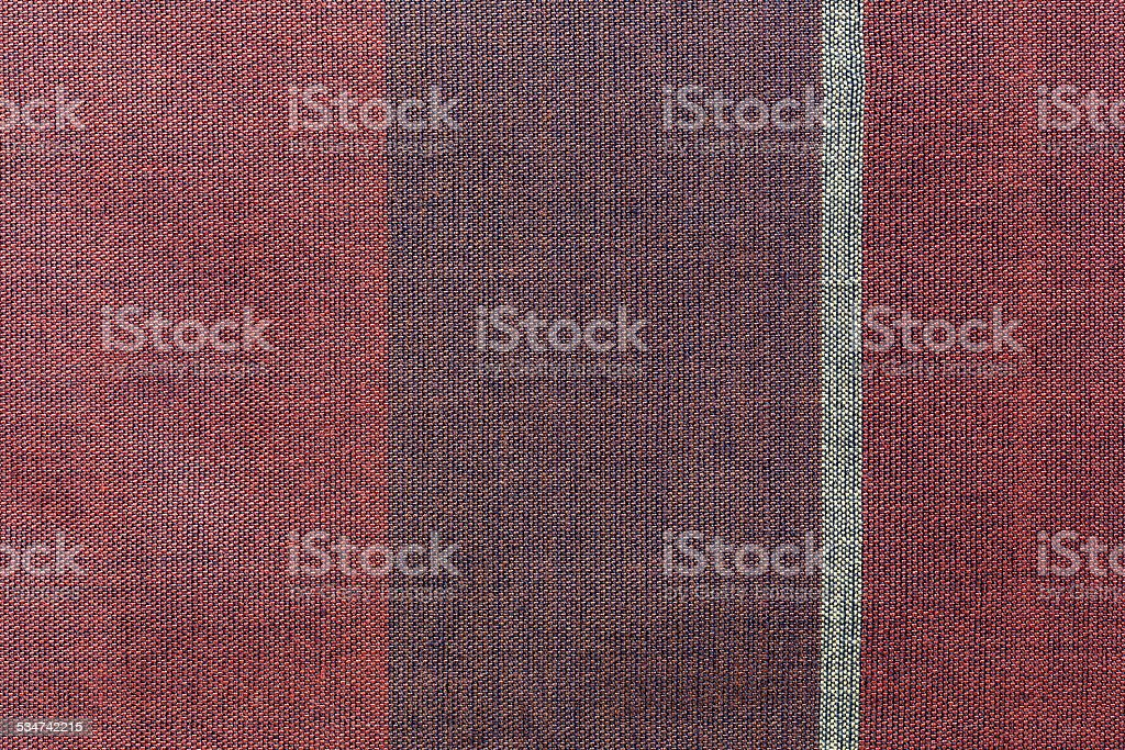 Thai silk fabric pattern stock photo