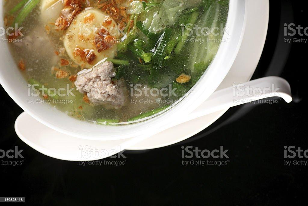 Thai Soup royalty-free stock photo