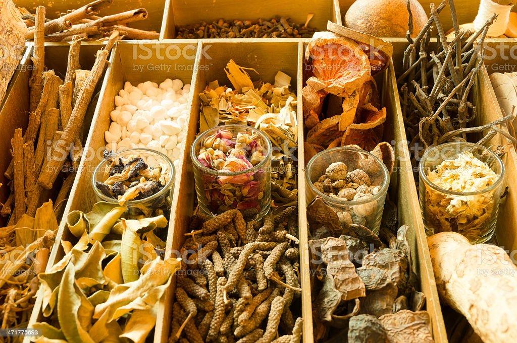 Thai Spa Herbs royalty-free stock photo