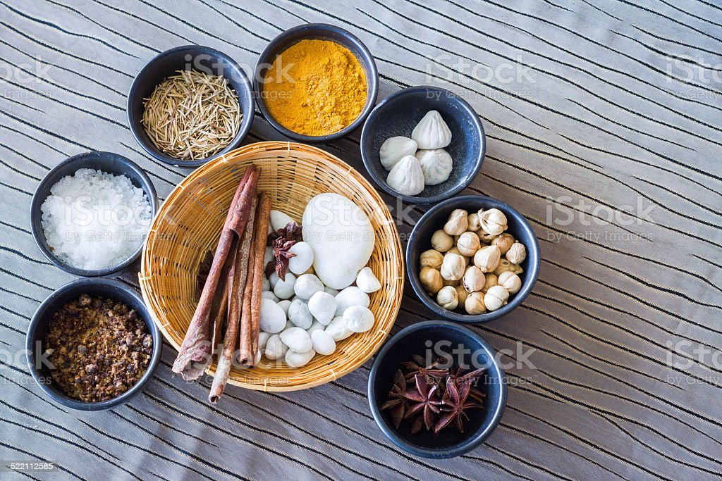 Thai Spa stock photo