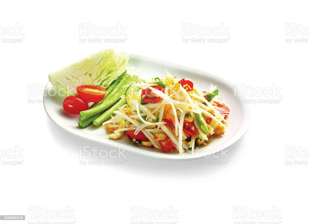 Thai spicy food stock photo