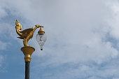 Thai street lamp