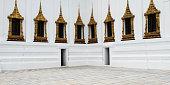 Thai Style Buddhist Architecture Concept