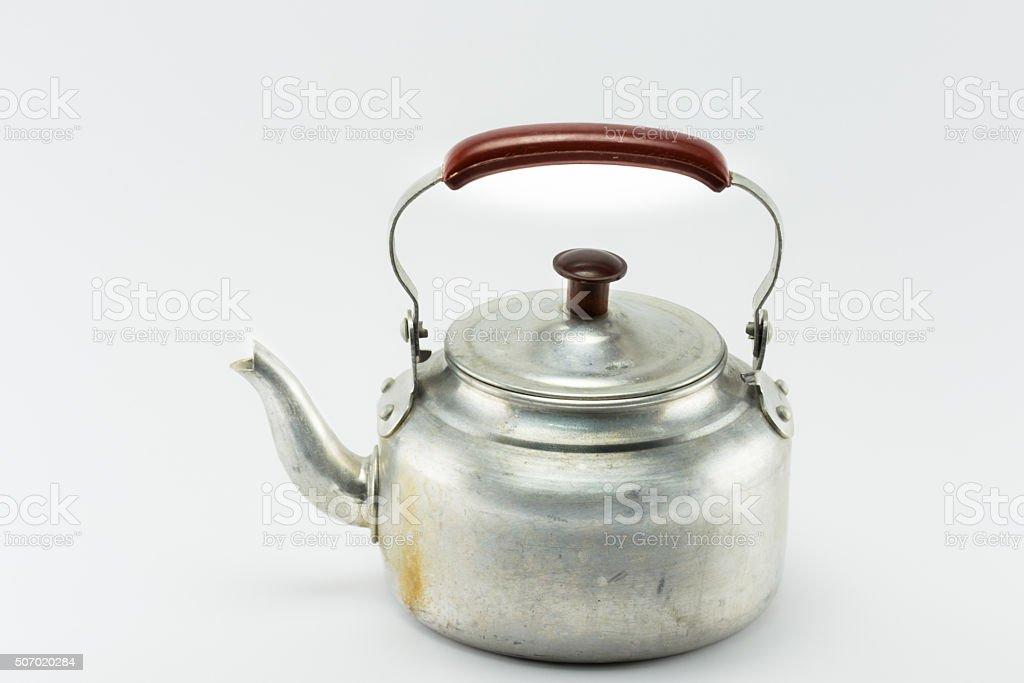 Thai style kettle stock photo