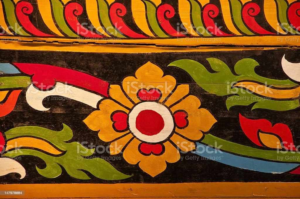 Tajskim stylu malarstwa zbiór zdjęć royalty-free