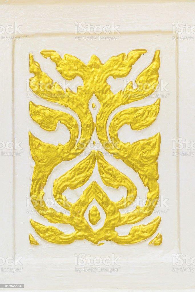 thai style texture royalty-free stock photo