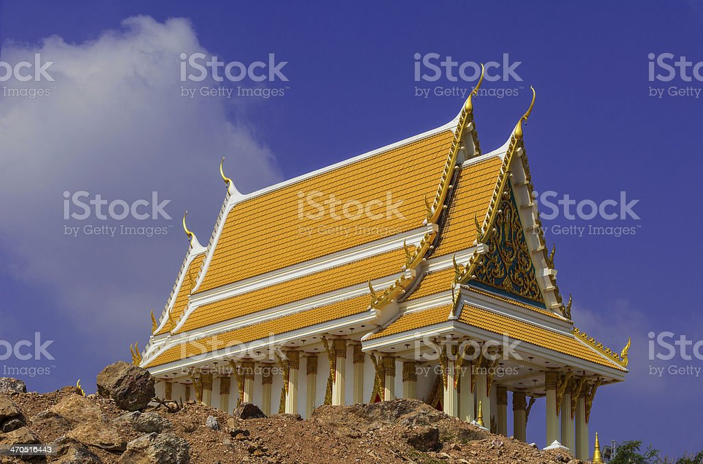 thai tample royalty-free stock photo