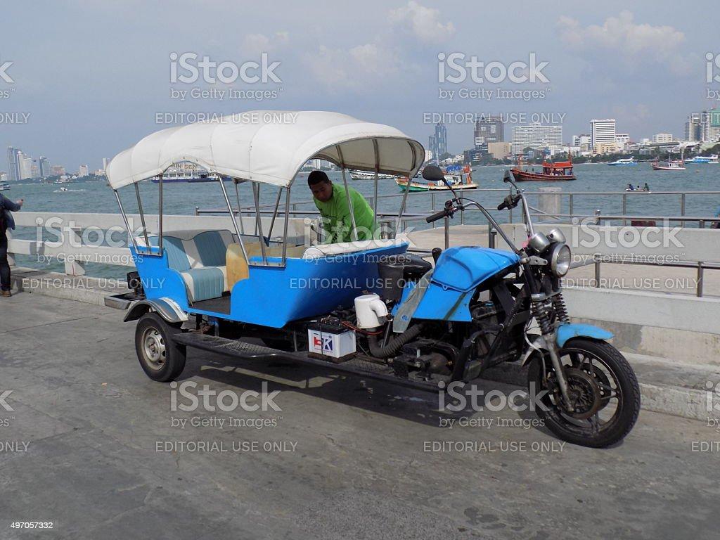 Thai Taxi stock photo