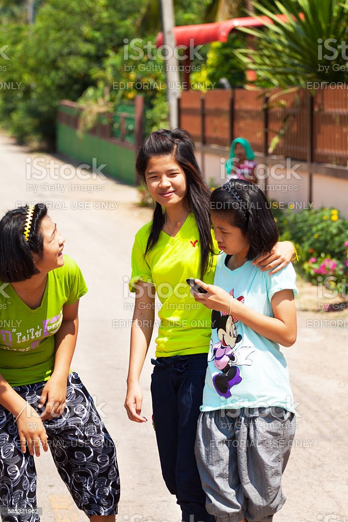 Small Teens thai teens in small village stock photo 585321962 | istock