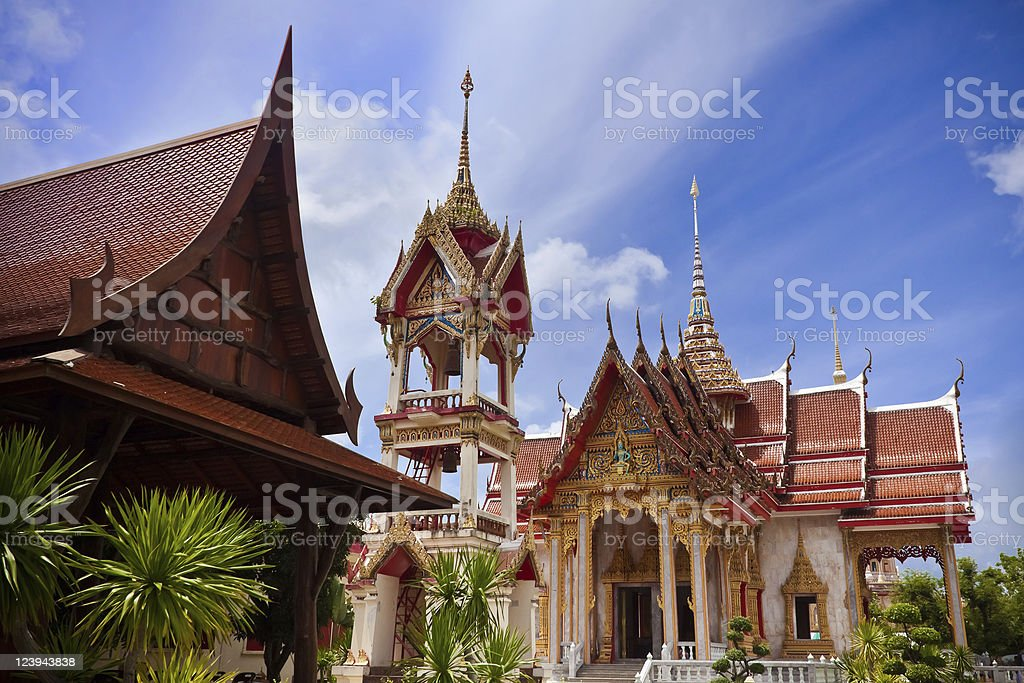 Thai Temple royalty-free stock photo