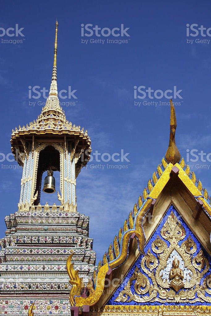Thai Temple royalty-free stock photo
