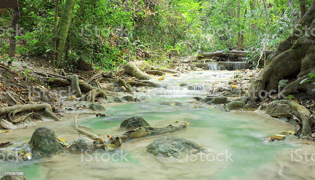 Thai Waterfall stock photo