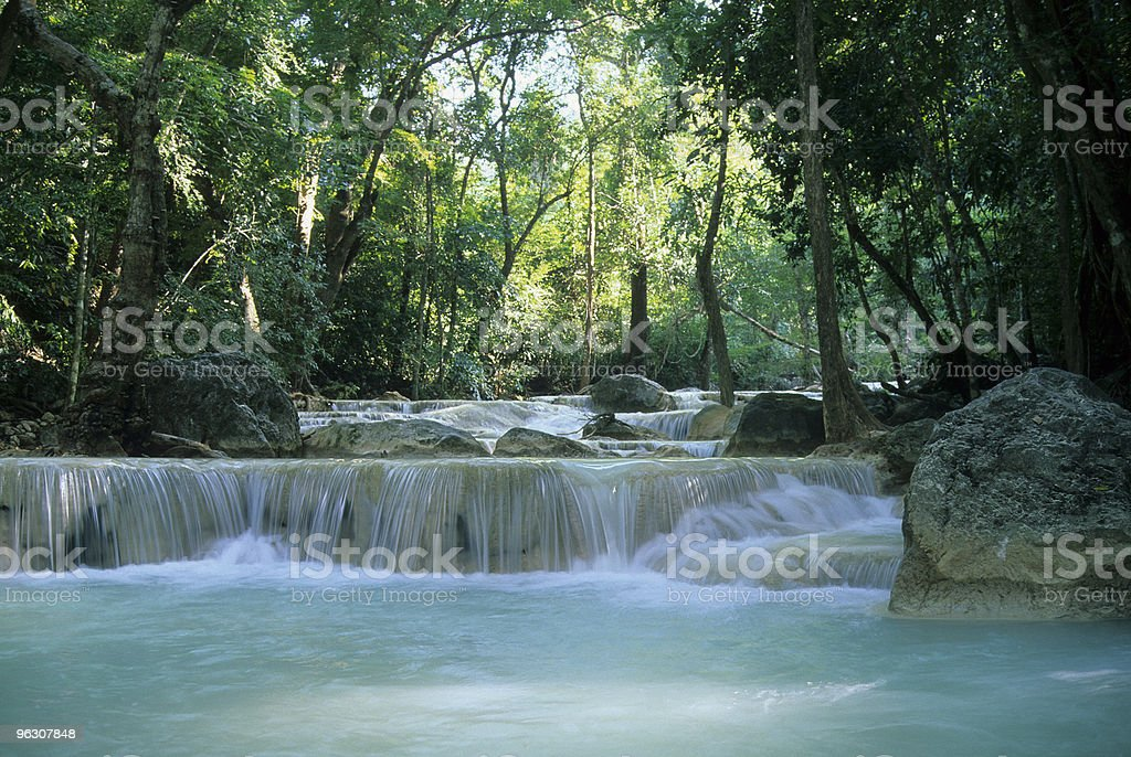 Thai Waterfall stock photo