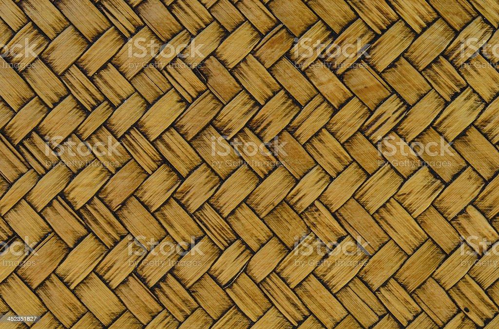 Thai Weave Texture Background royalty-free stock photo
