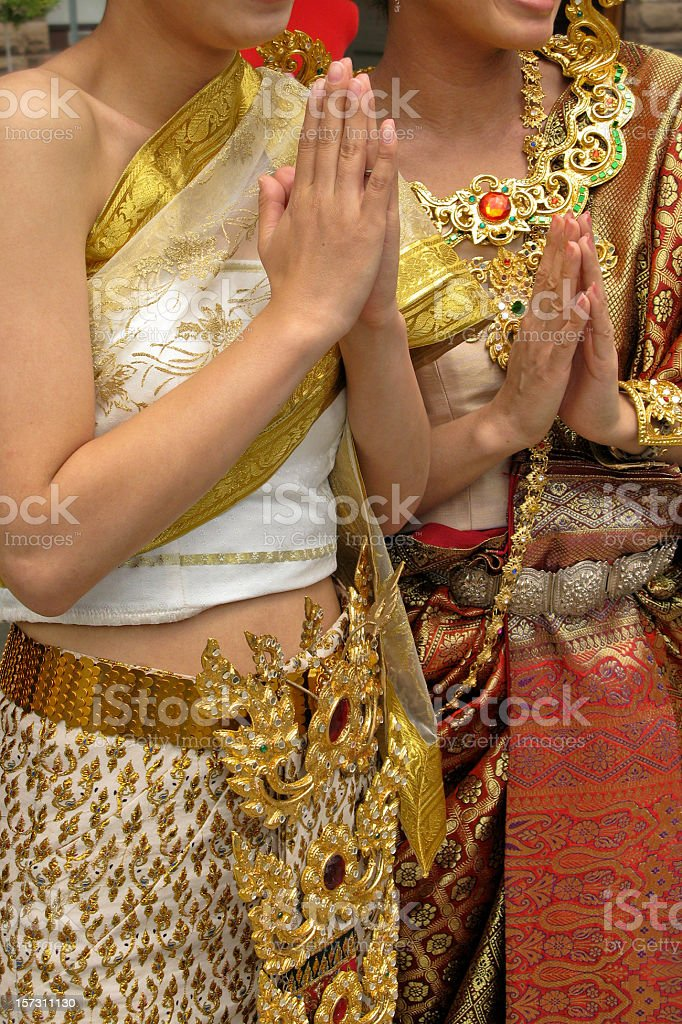 Thai women royalty-free stock photo