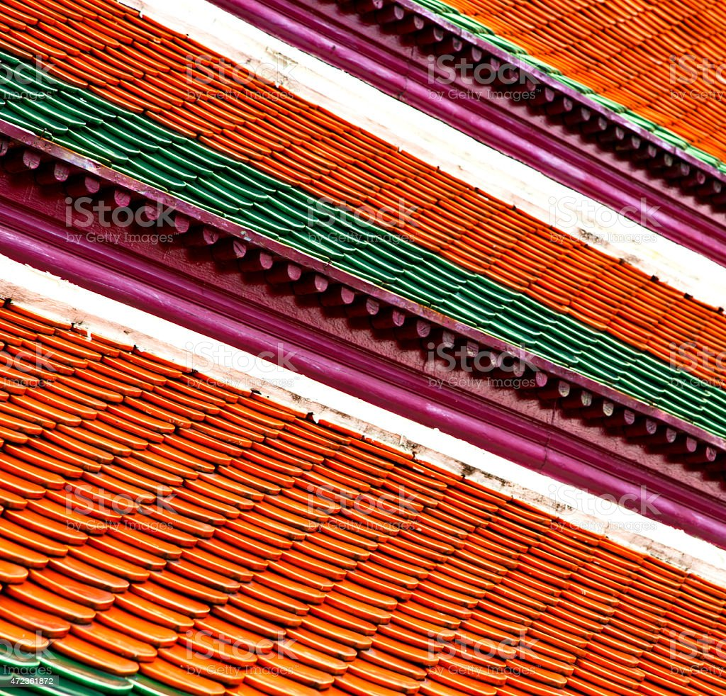 thailand abstract cross colors   asia and sky stock photo