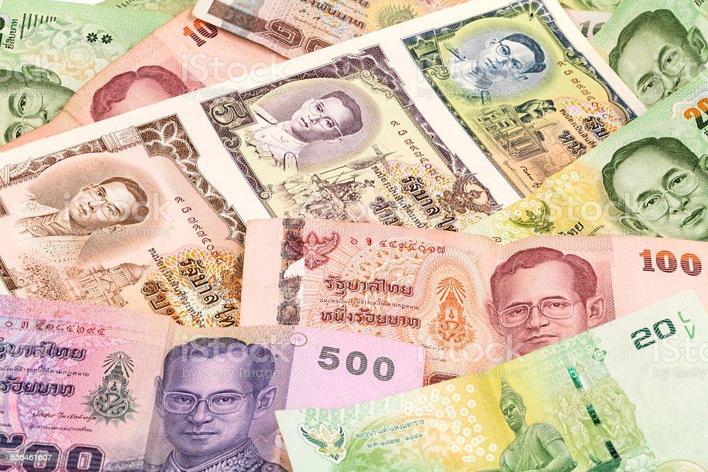 Thailand Baht stock photo