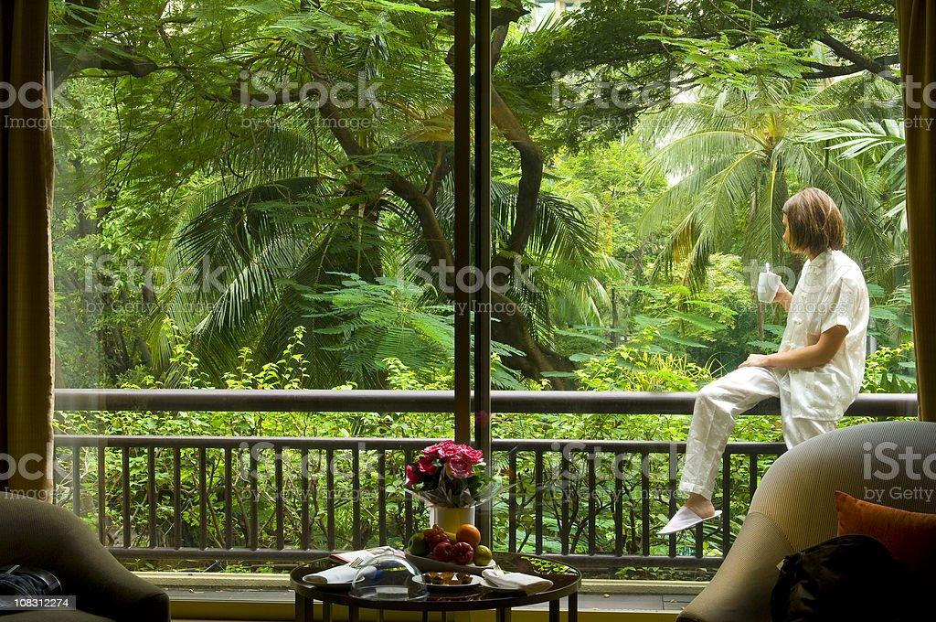 Thailand - Bangkok,  my room of Honeymoon royalty-free stock photo